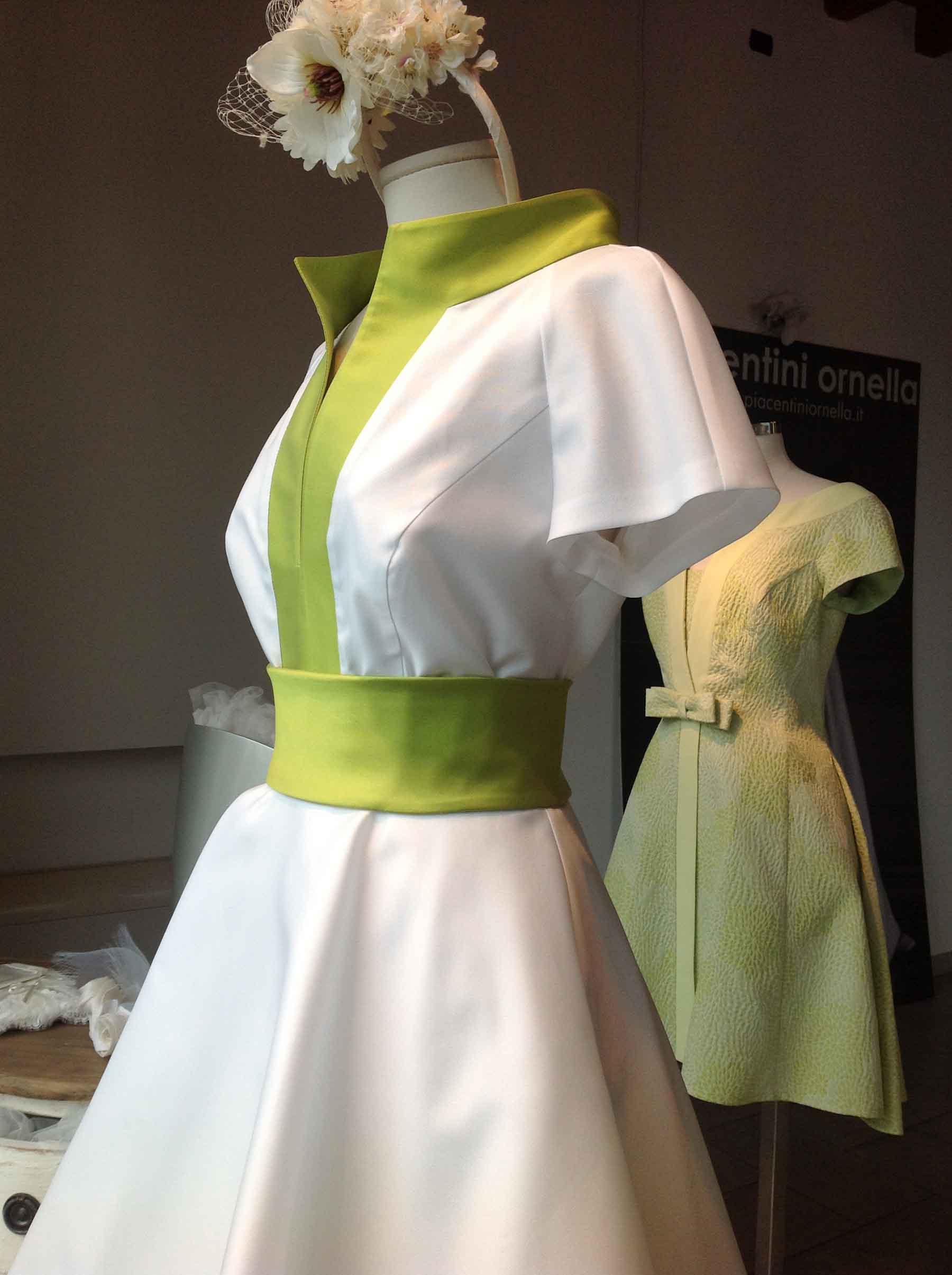 Vetrina colori fluo ornella piacentini abiti da sposa for Colori fluo